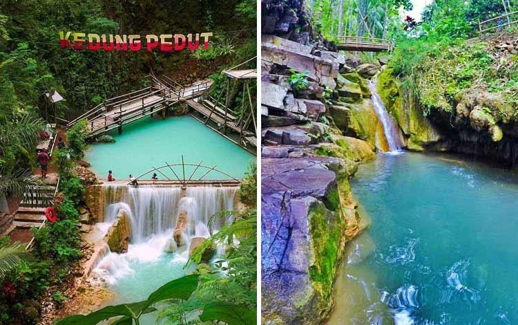 Tempat wisata Instagramable di Jogja - Air Terjun Kedung Pedut