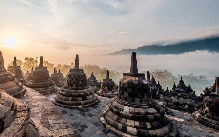 Tempat wisata Instagramable di Jogja - Candi Borobudur