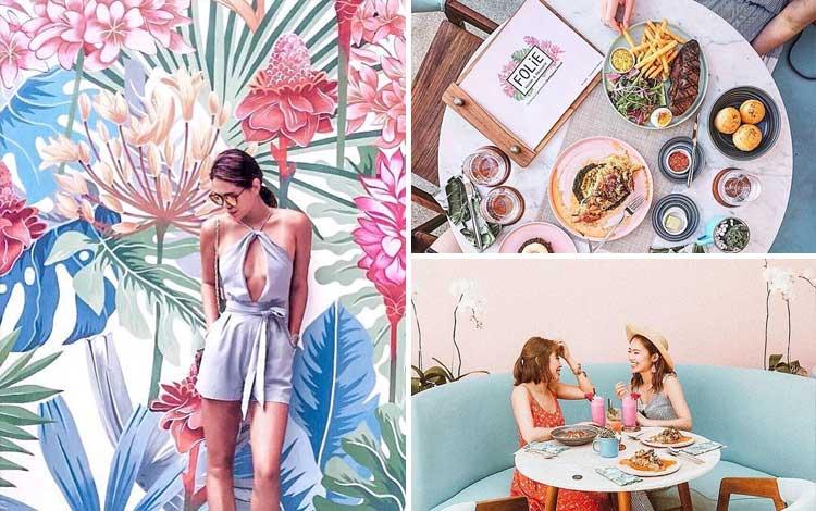 Cafe tempat nongkrong di Bali - Folie Kitchen and Patisserie, Bali