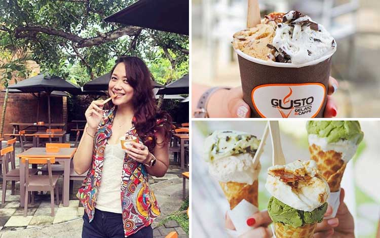 Cafe tempat nongkrong di Bali - Gusto Gelato and Cafe