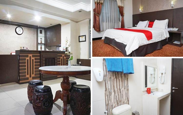 Hotel murah di Bandung - RedDoorz Plus @ Cihampelas 3