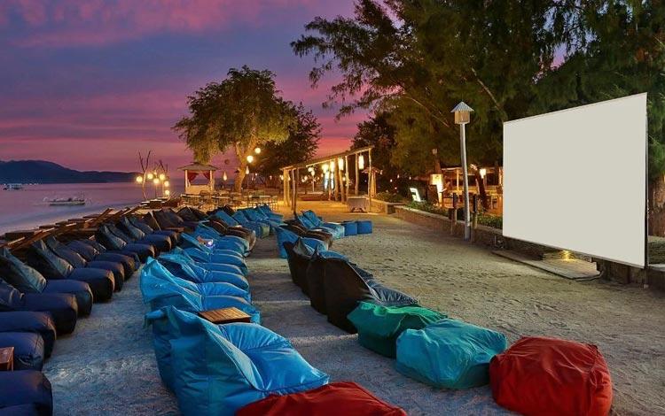 Open Air Cinema - Gili Trawangan