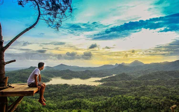 Tempat wisata Instagramable di Jogja - Kalibiru, Kulon Progo, Jogja
