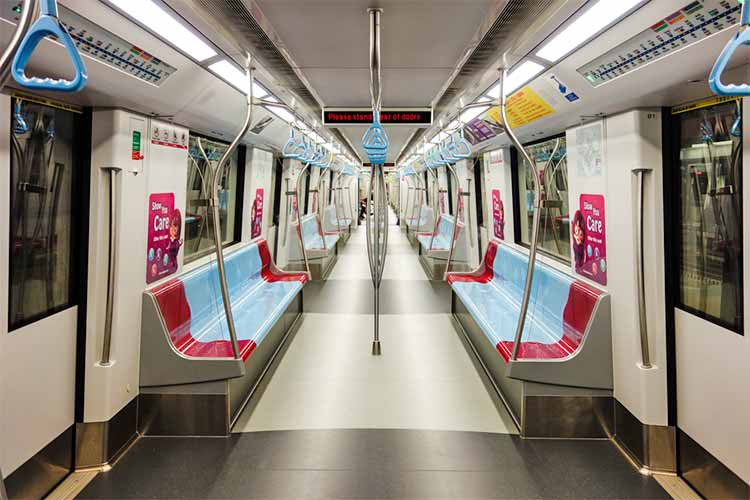 MRT - Transportasi murah di Singapura