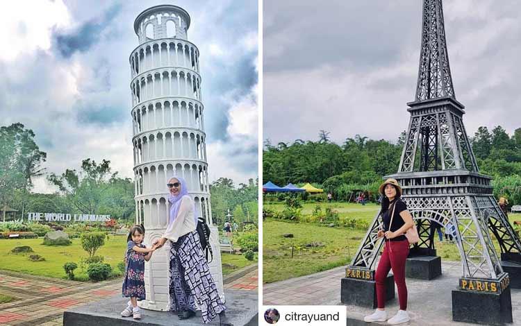 Tempat wisata Instagramable di Jogja - Merapi Park