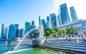 Tempat Wisata Favorit di Singapura - Merlion Park