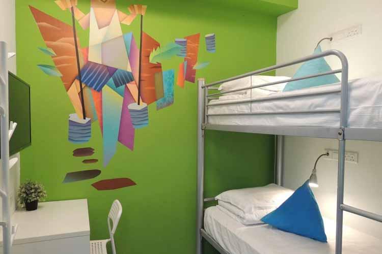 Penginapan murah di Singapura - Five Stones Hostel
