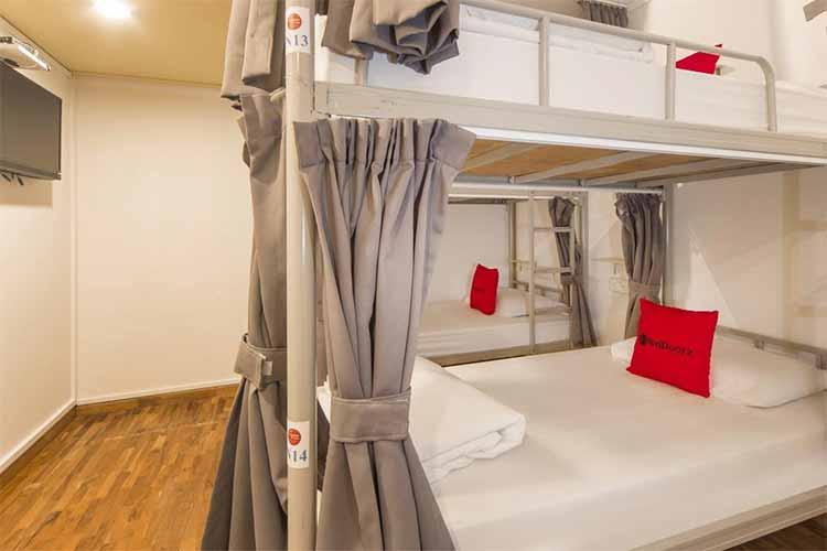 Penginapan murah di Singapura - RedDoorz Hostel @ Kallang MRT