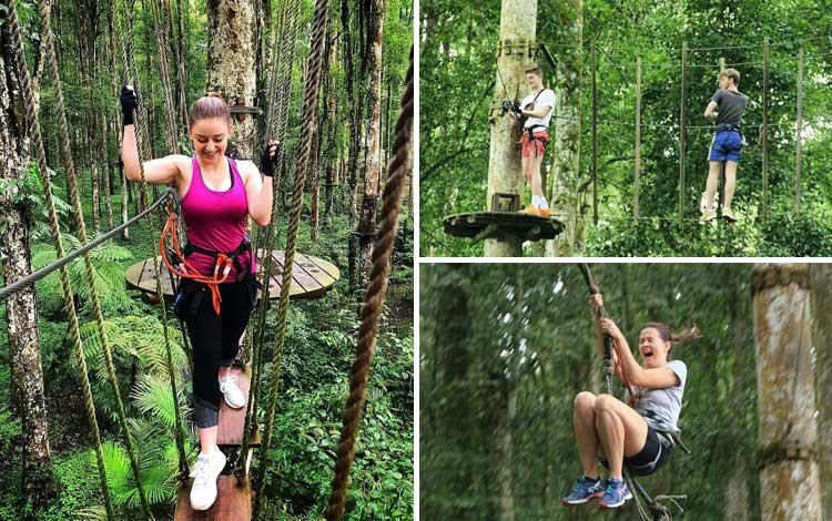 Taman bermain terbaik di Indonesia - Bali Treetop Adventure Park
