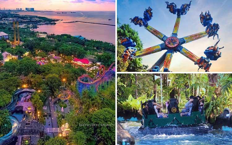 Taman bermain terbaik di Indonesia - Dunia Fantasi (Dufan)