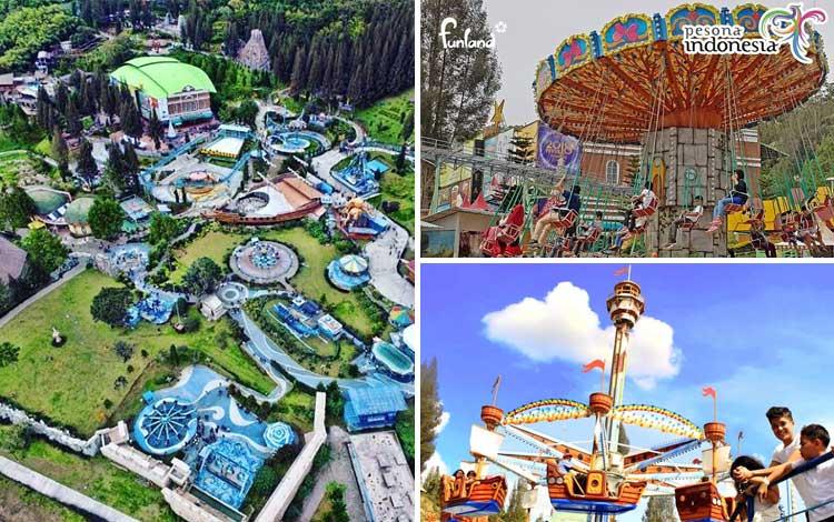 Taman bermain terbaik di Indonesia - Mikie Funland Holiday