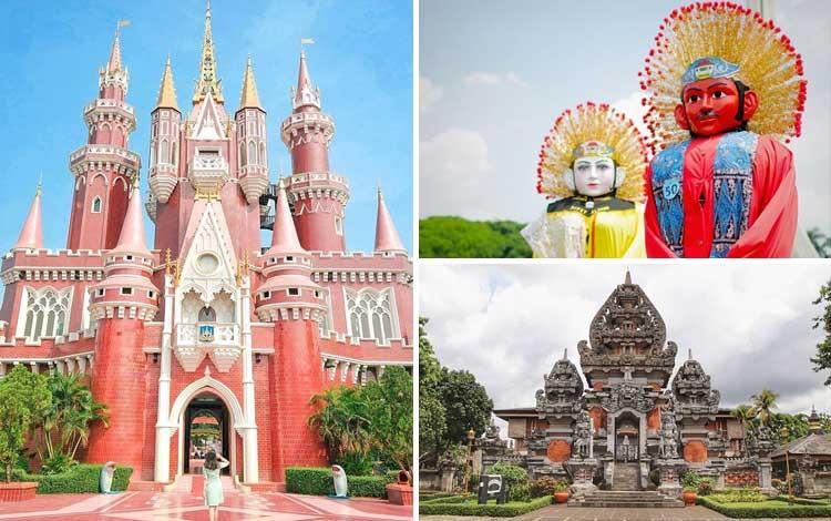 Taman bermain terbaik di Indonesia - TMII
