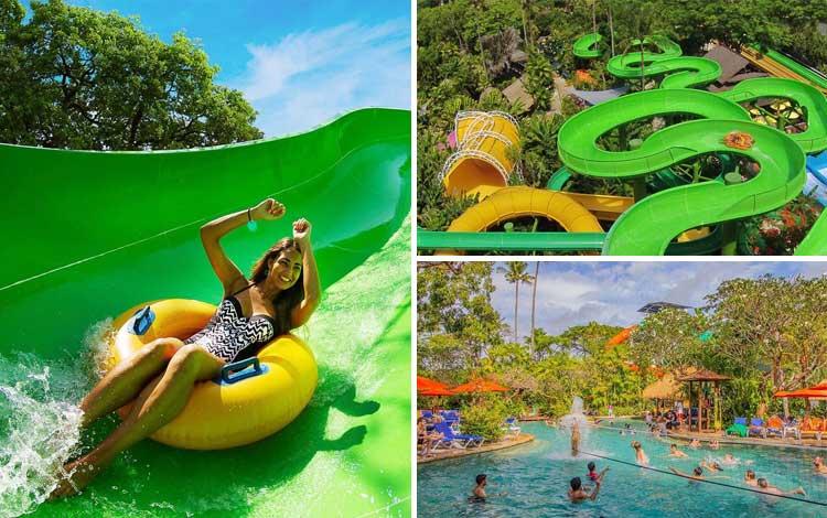 Taman bermain terbaik di Indonesia - Waterbom Bali