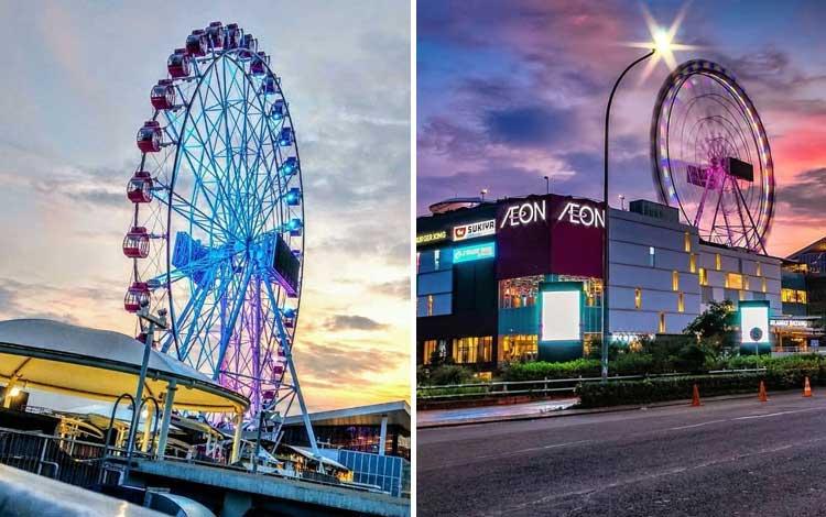 Tempat Wisata Terbaru di Jakarta - J-Sky Ferris Wheel, AEON Mall