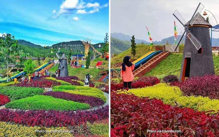 Tempat Wisata di Bandung Yang Instagramable - Barusen Hills