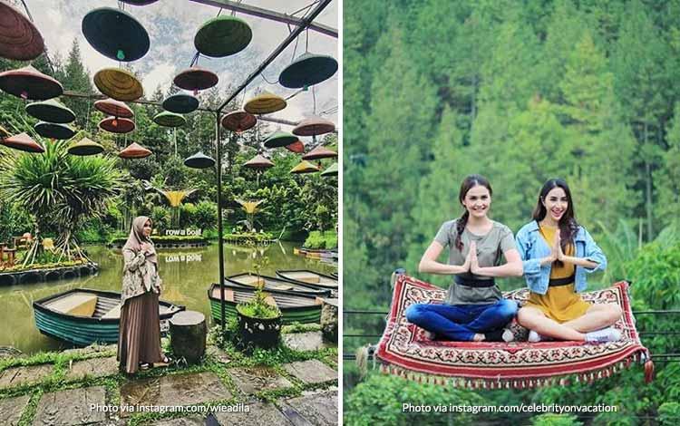 Tempat Wisata di Bandung Yang Instagramable - Dago Dream Park