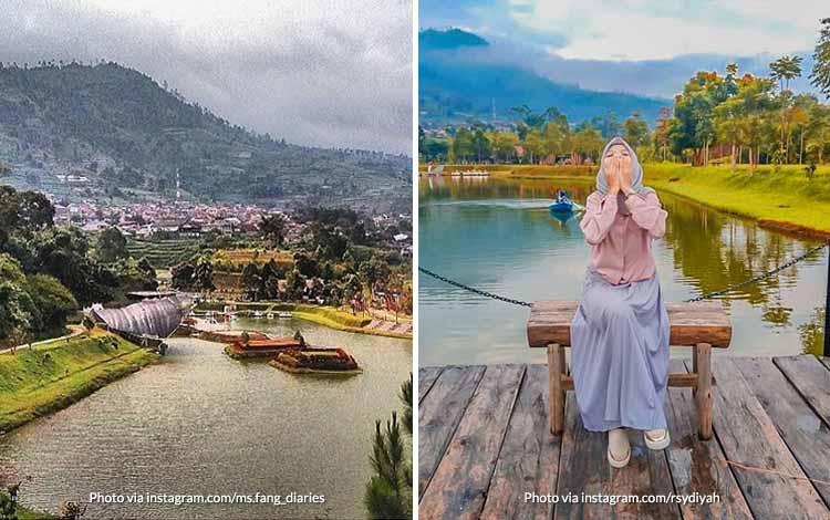 Tempat Wisata di Bandung Yang Instagramable - Lembah Dewata