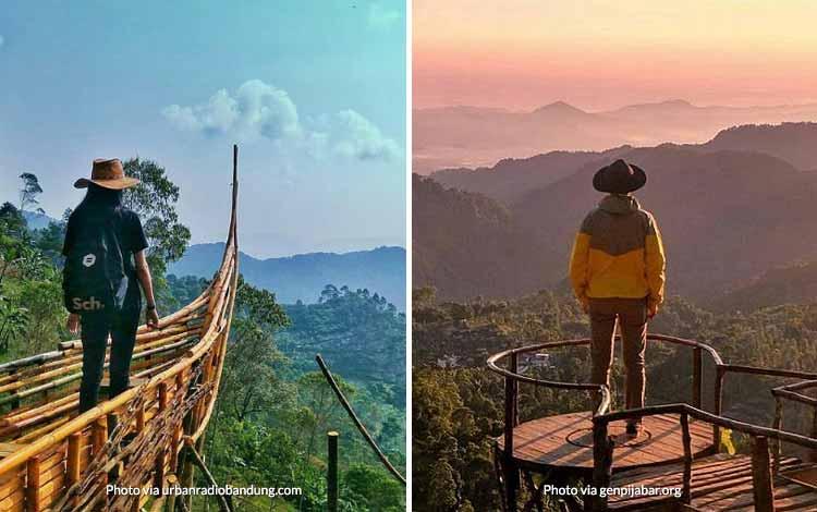 Tempat Wisata di Bandung Yang Instagramable - Puncak Eurad