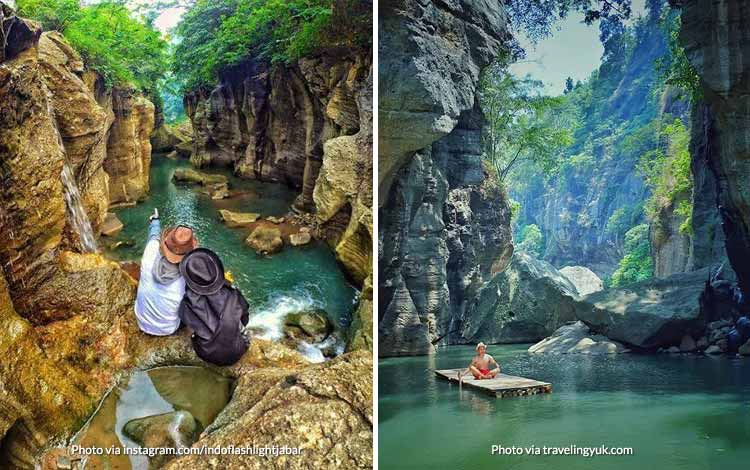 Tempat Wisata di Bandung Yang Instagramable - Sungai Cikahuripan