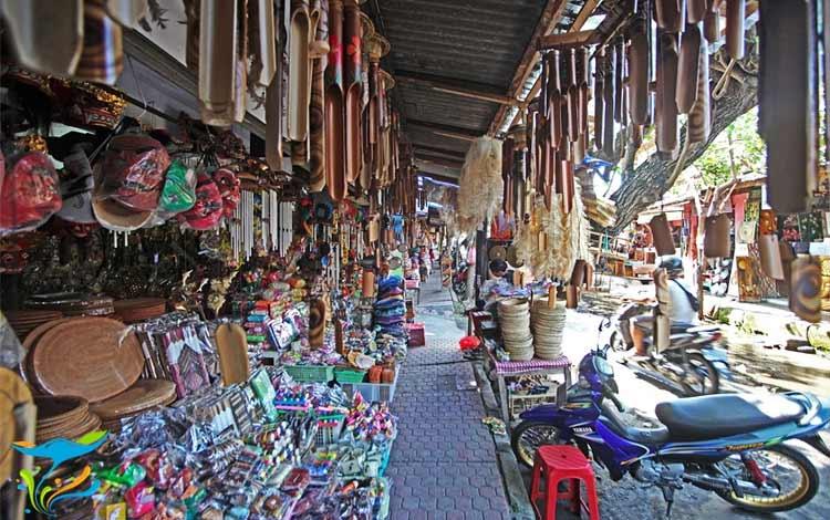 Tempat belanja oleh oleh murah di Bali - Pasar Sukawati