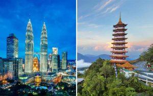 Tempat wisata terbaik dan terpopuler di Malaysia