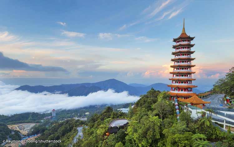 Tempat wisata terbaik dan terpopuler di Malaysia - Genting Highland Malaysia