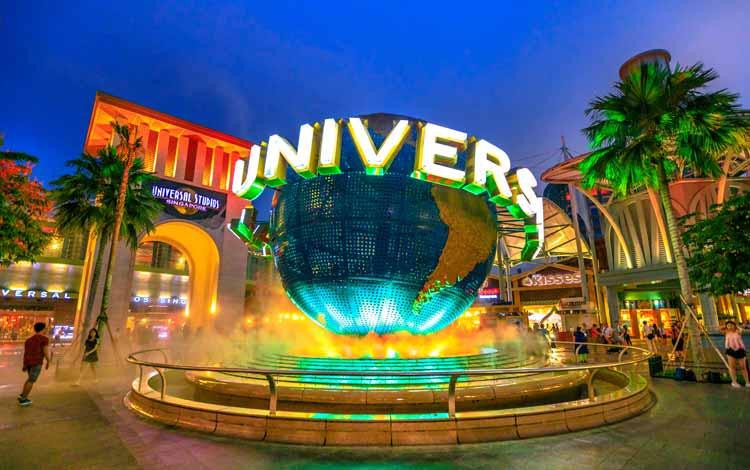 Tempat Wisata Favorit di Singapura - Universal Studios Singapore