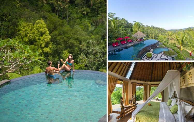 Villa romantis di Bali - Adiwana Dara Ayu Villas