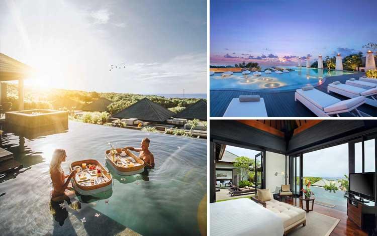 Villa romantis di Bali - Banyan Tree Ungasan