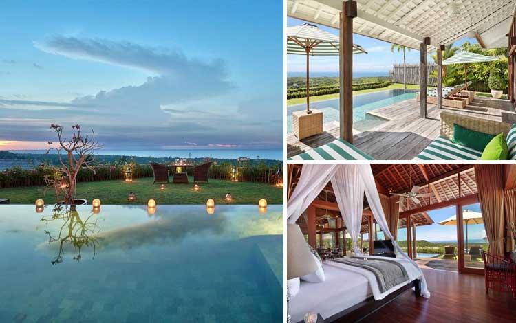 Villa romantis di Bali - Hidden Hills Villas