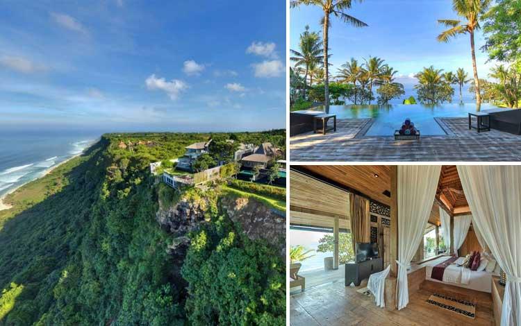 Villa romantis di Bali - Khayangan Estate