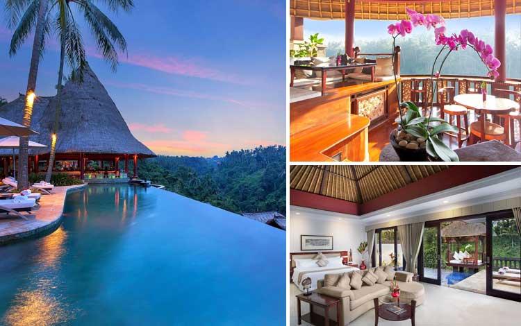 Villa romantis di Bali - Viceroy Bali