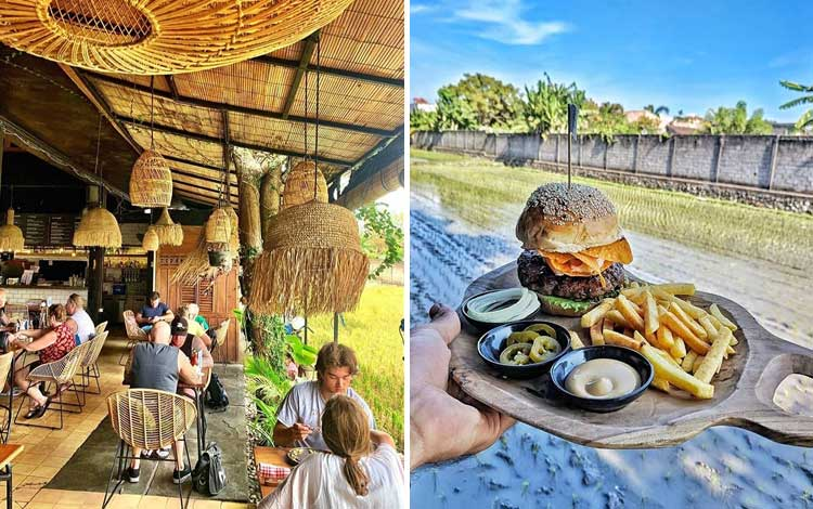 Cafe tempat nongkrong di Bali - Wacko Burger Cafe, Seminyak