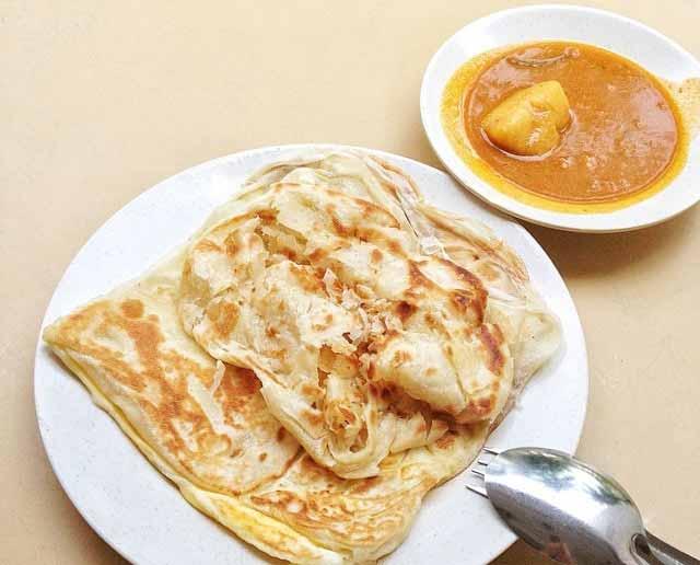 Makanan murah roti prata Singapura