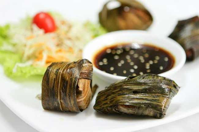 Makanan Thailand enak dan lezat di Indonesia - Gai Hor Bai Toey