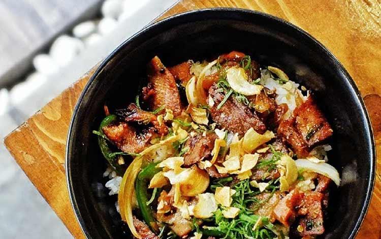 Makanan Thailand enak dan lezat di Indonesia - Gyu Tan Don