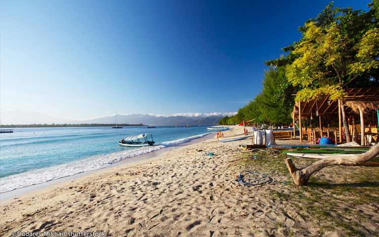 Pantai terindah di Indonesia - Gili Trawangan