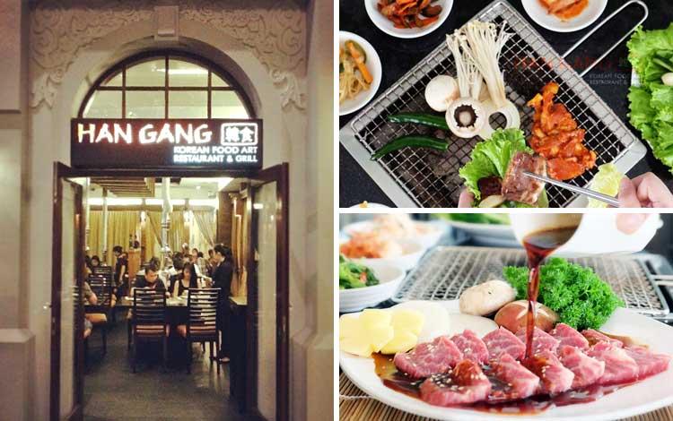 Restoran Korea Halal di Jakarta - Han Gang