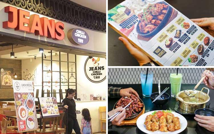 Restoran Korea Halal di Jakarta - Jeans Chili Chicken