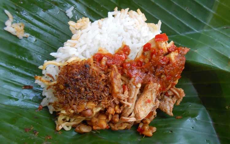 Tempat makan murah di Bali - Nasi Jinggo Simpangan