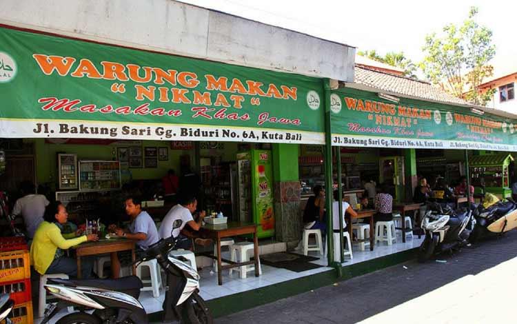Tempat makan murah di Bali - Warung Makan Nikmat