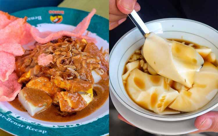 Tempat makan murah di Bandung - Kupat Tahu Gempol