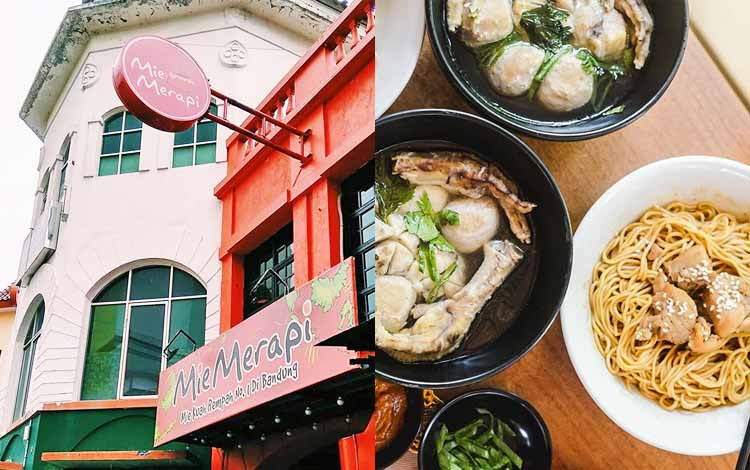 Tempat makan murah di Bandung - Mie Merapi