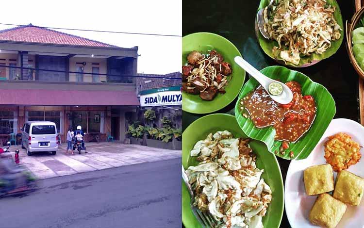 Tempat makan murah di Bandung - Rumah Makan Sida Mulya Lembang