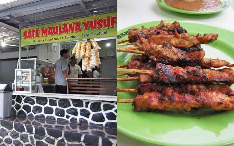 Tempat makan murah di Bandung - Sate Maulana Yusuf