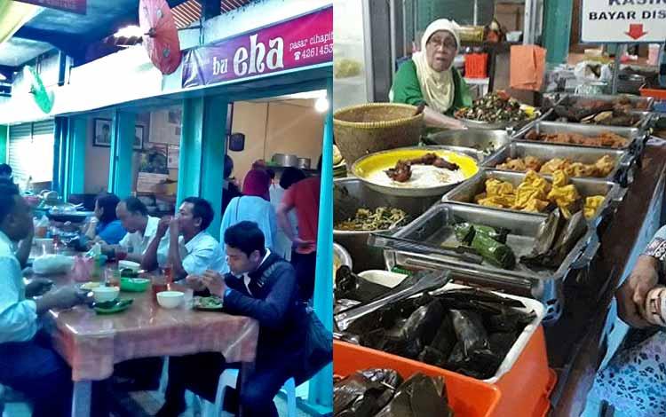 Tempat makan murah di Bandung - Warung Bu Eha Bandung