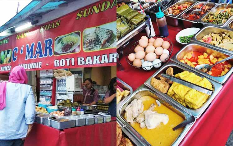 Tempat makan murah di Bandung - Warung Ceu Mar