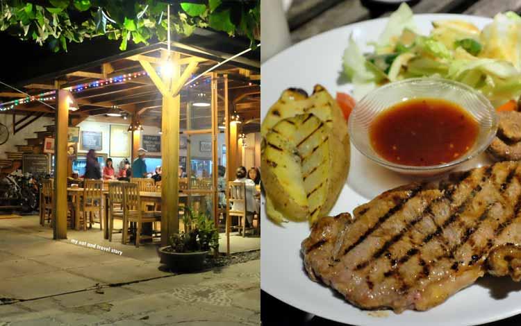 Tempat makan murah di Bandung - Warung Laos