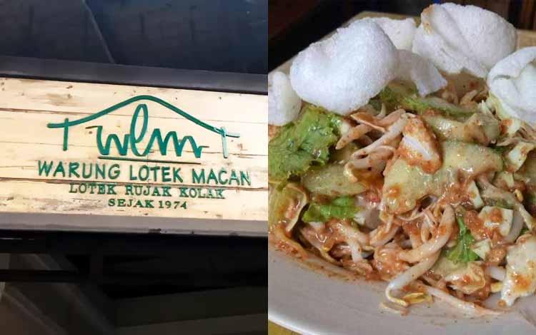 Tempat makan murah di Bandung - Warung Lotek Macan
