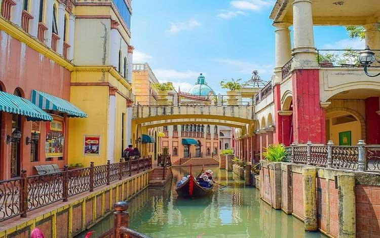 Tempat wisata di bogor yang instagramable - Little Venice Kota Bunga Puncak Bogor